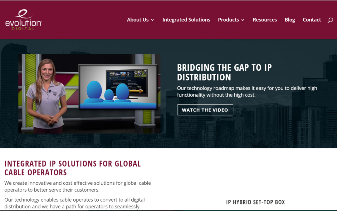 Evolution Digital Unveils Redesigned Website