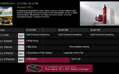 Evolution Digital Launches eGUIDE, Powered by Rovi's Fan TV Platform, on New eBOX IP Hybrid