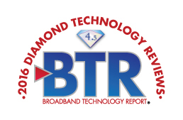 Evolution Digital Awarded 4.5 Diamonds in Broadband Technology Report's 2016 Diamond Technology Reviews